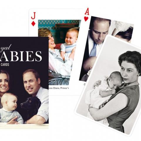 Коллекционные карты Королевские дети, 55 листов