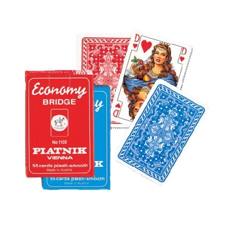 Игральные карты Экономи Бридж, 55 л.