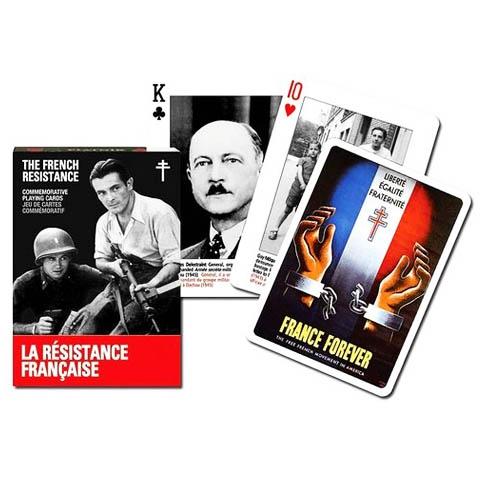 Коллекционные карты Герои французского сопротивления, 55 листов