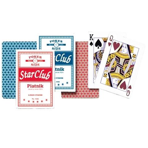 Игральные карты Клуб Стар, 55 л.
