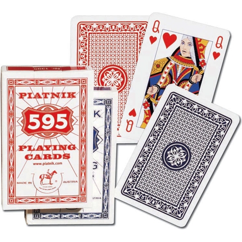 Игральные карты Бридж 595, 55 л.