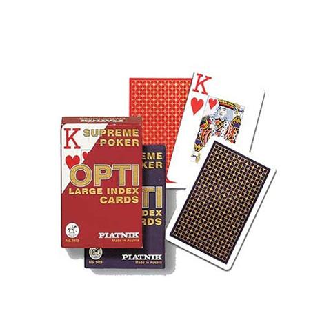Игральные карты Опти-Бридж, 55 л.