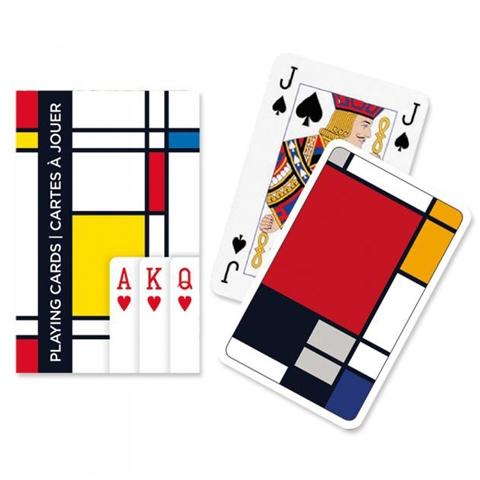 Игральные карты Узоры квадраты, 55 листов