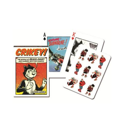 Коллекционные карты Британский комикс, 55 листов