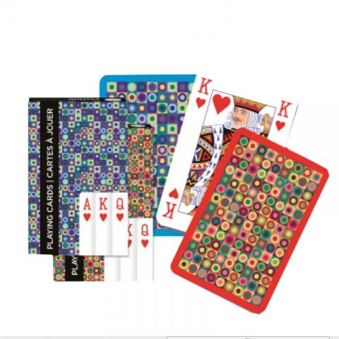 Игральные карты Узоры круги, 55 листов