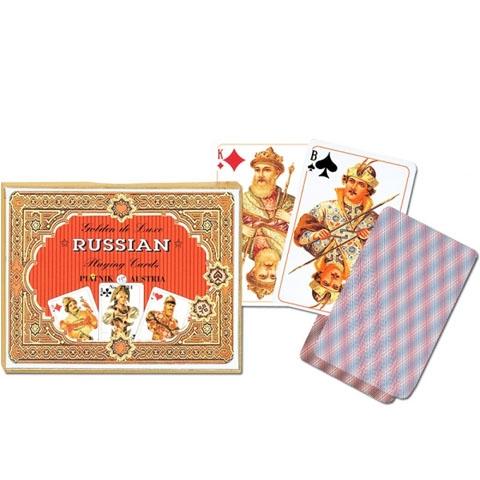 Карточный набор Золотая Россия