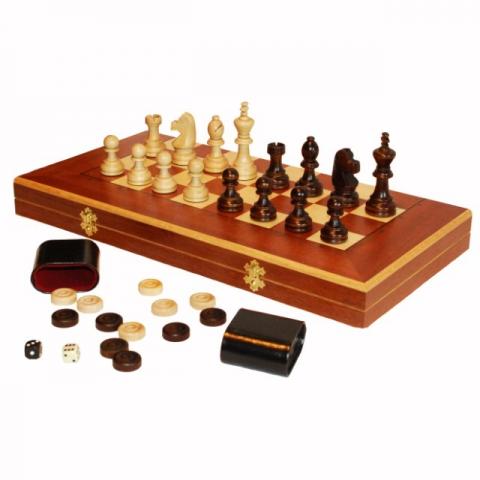 Нарды, шашки, шахматы Королевские