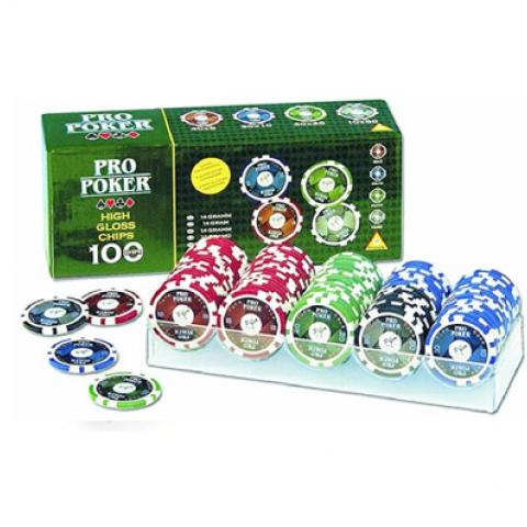 Фишки для покера 100 шт Piatnik