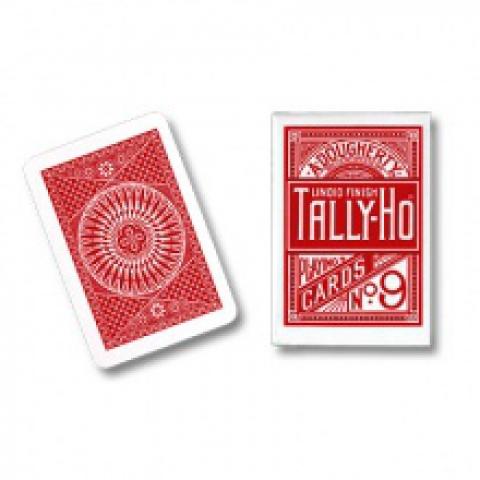 Игральные карты Tally-Ho (Circle back), 54 л.