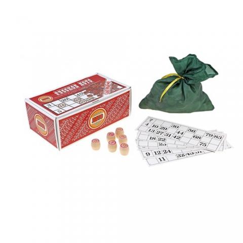 Русское лото (красная картонная коробка)