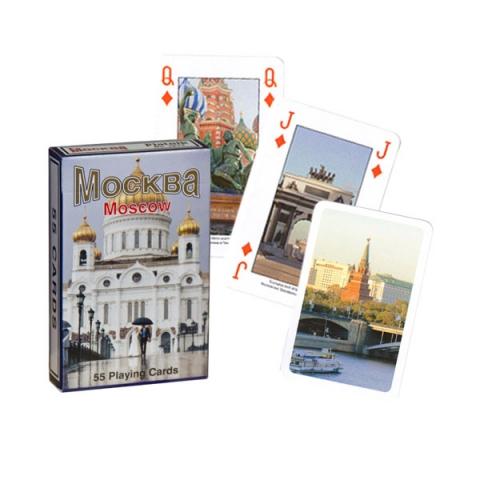 Коллекционные карты Москва, 55 листов
