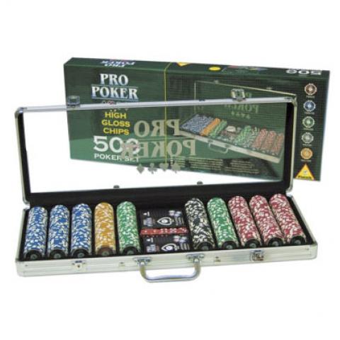 Покерный набор на 500 фишек Pro Poker Piatnik (Австрия)