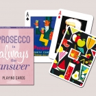 Коллекционные карты  Prosecco is always the answer, 55 листов