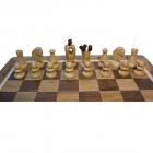Шахматы Лев 3в1 дуб