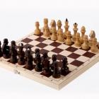Шахматы обиходные лакированные (290 х 145 х 38)