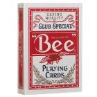 Игральные карты Bee №92 красные, 54 листа