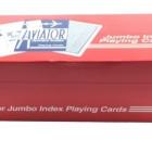 Игральные карты Aviator Jumbo (Авиатор), 54 л.