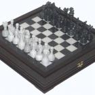 Шахматы  средние каменные 34х34