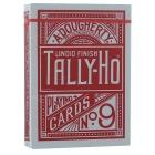 Игральные карты Tally-Ho (Fan back), красные 54 л.