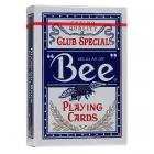 Игральные карты Bee №92 синие, 54 листа