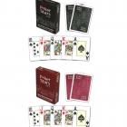 Карты Pokerstars красные 54 пластиковые 63*88мм