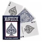 9125 Игральные карты MAVERICK – стандартный индекс синие