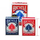 Игральные карты Bicycle мини синие