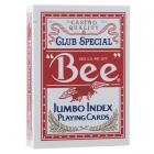 Игральные карты Bee №77 Jumbo (Пчела №77 Джамбо), 54 л.