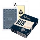 Игральные карты Fournier 818 синие (крупный индекс)