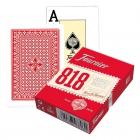 Игральные карты Fournier 818 красные (крупный индекс)