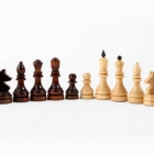 Шахматы турнирные утяжеленные с доской (400 х 200 х 55)
