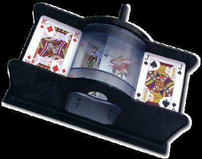 Машинка для перемешивания игральных карт с ручным механизмом Piatnik (Австрия)