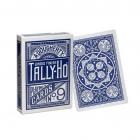 Игральные карты Tally-Ho (Fan back), синие  54 л.